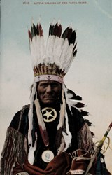 1538-Little Soldier Of The Ponca Tribe.