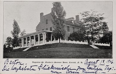 Augustus St. Gauden's Summer Home, Cornish, N.H.