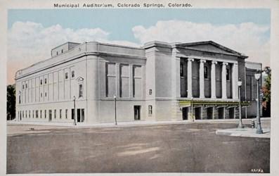 Municipal Auditorium, Colorado Springs, Colorado