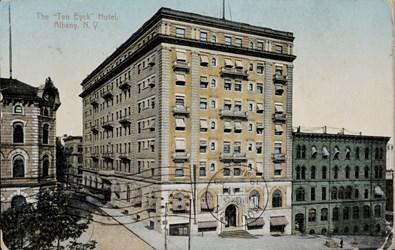 """The """"Ten Eyck"""" Hotel, Albany, N.Y."""