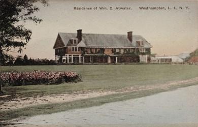 Residence of Wm. C. Atwater. Westhampton, L.I., N.Y.
