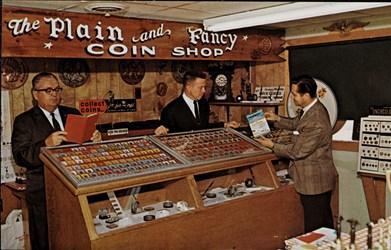 The Plain & Fancy Coin Shop