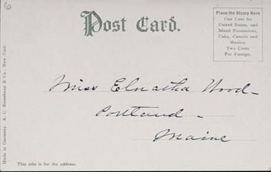Reverse Side: Bureau of Engraving & Printing, Washington D.C.