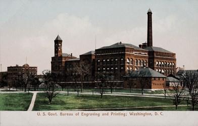 U.S. Govt. Bureau of Engraving & Printing; Washington, D.C.