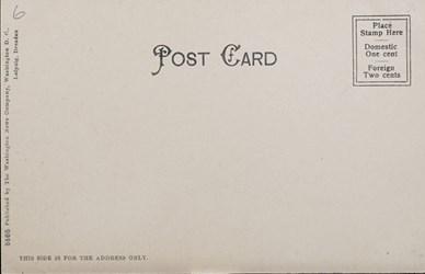 Reverse Side: U.S. Govt. Bureau of Engraving & Printing; Washington, D.C.