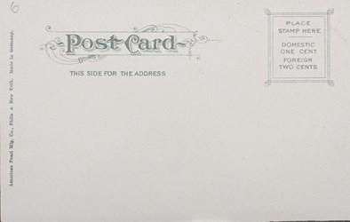 Reverse Side: Bureau of Engraving & Printing, Washington, D.C.