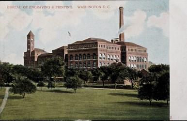 Bureau of Engraving & Printing, Washington D.C.