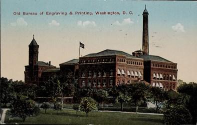 Old Bureau of Engraving & Printing, Washington D.C.