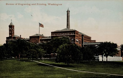 Bureau of Engraving & Printing, Washington .