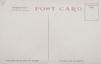 Reverse Side: Bureau of Engraving & Printing at Night, Washington D.C.