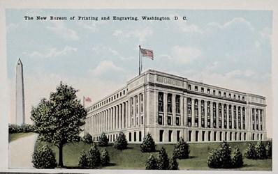 The New Bureau of Printing and Engraving, Washington, D.C.