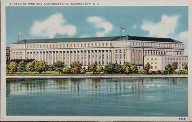 Bureau of Printing and Engraving, Washington D.C.