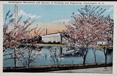 Washington Monument and Bureau of Printing and Engraving, Washington, D.C.