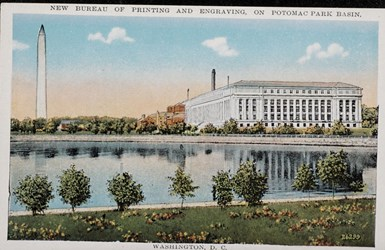 New Bureau of Printing and Engraving, on Potomac Park Basin, Washington, D.C.