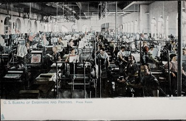 U.S. Bureau of Engraving and Printing. Press Room.