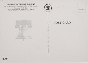 Reverse side: United States Mint