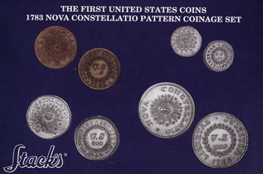 The First United States Coins, 1783 Nova Constellatio Pattern Coinage Set