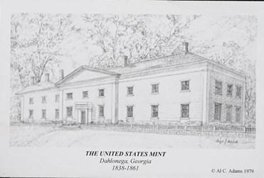 The United States Mint, Dahlonega, Georgia, 1838-1861