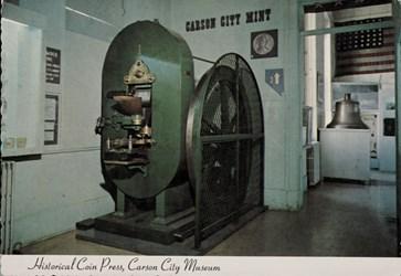 Historical Coin Press, Carson City Museum