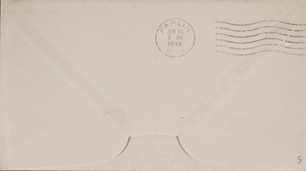 Envelope: Old Swedes' Church Delaware Tercentenary
