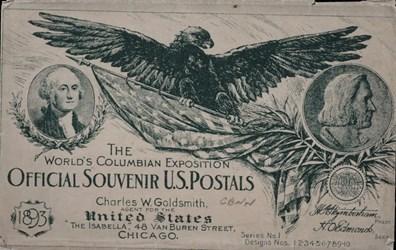 The World's Columbian Exposition Official Souvenir U.S. Postals