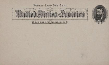 Reverse side: Official Souvenir Postal World's Columbian Exposition