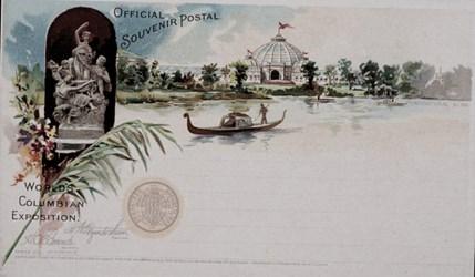 Official Souvenir Postal World's Columbian Exposition