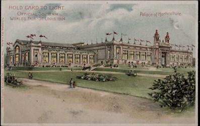 Official Souvenir, World's Fair - St. Louis 1904, Palace of Horticulture