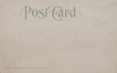 Reverse side: Official Souvenir, World's Fair - St. Louis 1904, Palace of Horticulture