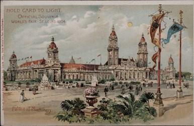 Official Souvenir, World's Fair - St. Louis 1904, Palace of Machinery