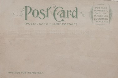 Reverse side: Official Souvenir, World's Fair - St. Louis 1904, Varied Industries Building