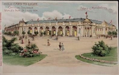 Official Souvenir, World's Fair - St. Louis 1904, Palace of Manufactures