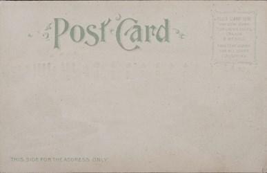 Reverse side: Official Souvenir, World's Fair - St. Louis 1904, Palace of Manufactures