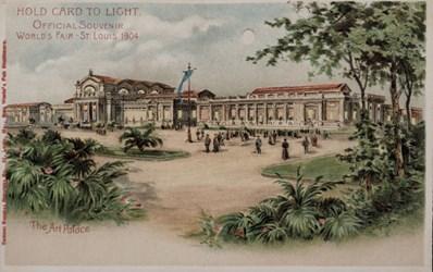 Official Souvenir, World's Fair - St. Louis 1904, The Art Palace