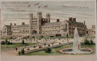 Official Souvenir, World's Fair - St. Louis 1904, Administration Building
