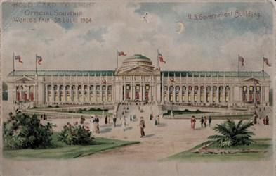 Official Souvenir, World's Fair - St. Louis 1904, U.S. Government Building