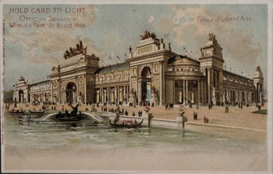 Official Souvenir, World's Fair - St. Louis 1904, Palace of Liberal Arts
