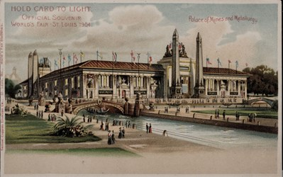 Official Souvenir, World's Fair - St. Louis 1904, Palace of Mines and Metallurgy
