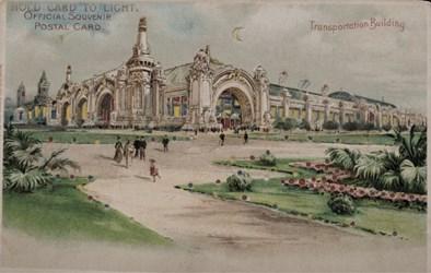 Official Souvenir, World's Fair - St. Louis 1904, Transportation Building