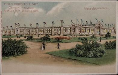Official Souvenir, World's Fair - St. Louis 1904, Palace of Agriculture