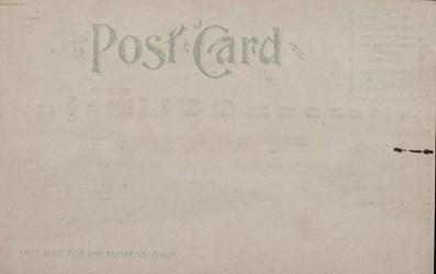 Reverse side: Official Souvenir, World's Fair - St. Louis 1904, Palace of Agriculture