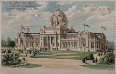 Official Souvenir, World's Fair - St. Louis 1904, Missouri State Building