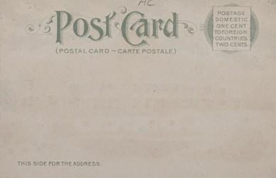 Reverse side: Official Souvenir, World's Fair - St. Louis 1904, Missouri State Building