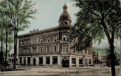 Second National Bank Building, Red Bank, N.J.