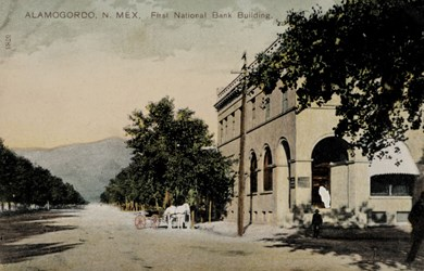 Alamogordo, N. Mex. First National Bank Building.