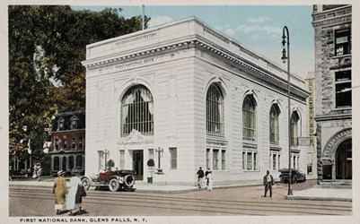 First National Bank, Glens Falls, N.Y.