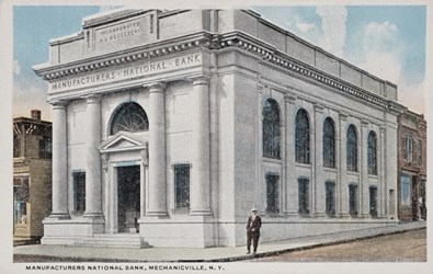 Manufacturers National Bank, Mechanicville, N.Y.