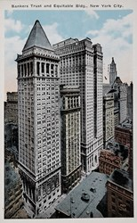 Bankers Trust and Equitable Bldg., New York City
