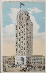 C-4: First National Bank Bldg., Charlotte, N.C.