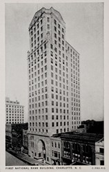 First National Bank Building, Charlotte, N.C.